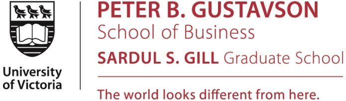 University of Victoria - Gustavson School of Business
